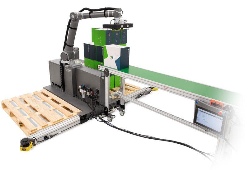 paletizador techman robot